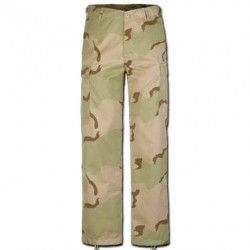 PANTALON LARGO COLOR DESIERTO