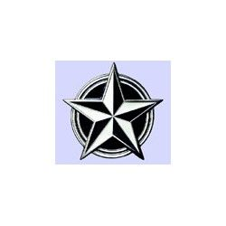 HEBILLA NAUTICAL STAR BLACK - WHITE