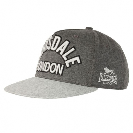 ac00a0591ffef Gorra Lonsdale gris LDN - Mailorder Skinpride