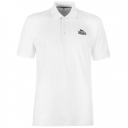 Polo Lonsdale Plain Blanco