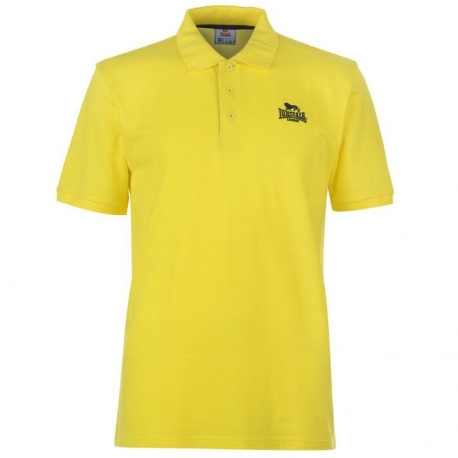 Polo Lonsdale Plain Amarillo