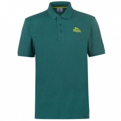 Polo Lonsdale Plain Verde oscuro