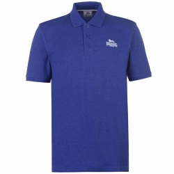 Polo Lonsdale Plain Azul Royal