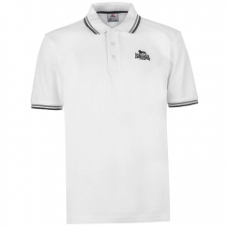 Polo Lonsdale Tipped Blanco