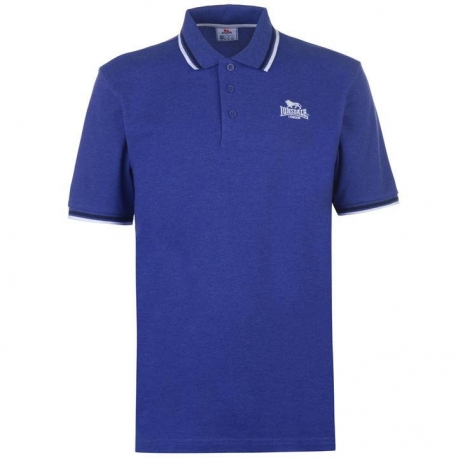 Polo Lonsdale Tipped azul royal