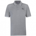 Polo Lonsdale Tipped gris