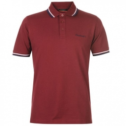 Polo Pierre Cardin Granate