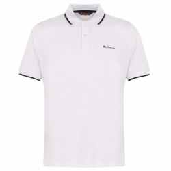 Polo Ben Sherman blanco n.