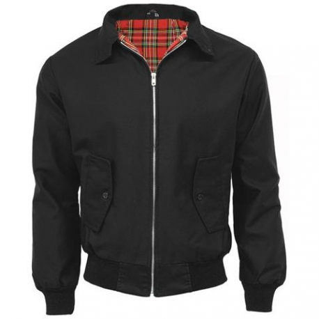 CHAQUETA HARRINGTON NEGRA