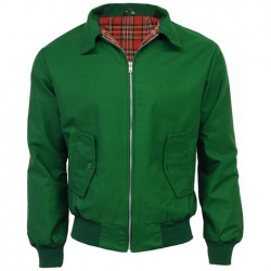 Chaqueta harrington verde botella