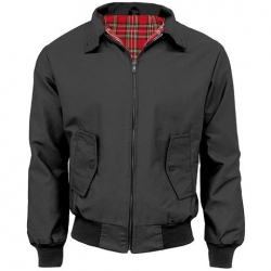 Chaqueta harrington gris