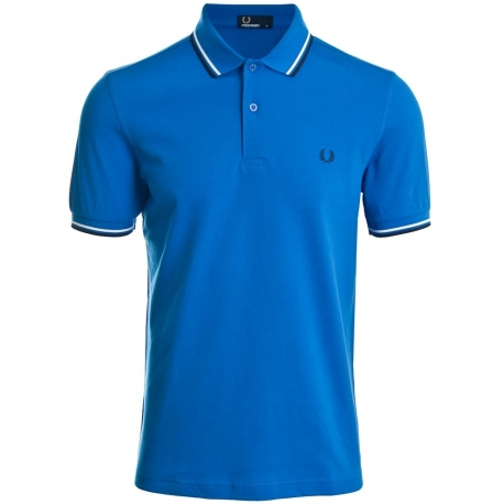 Polo Fred Perry azul b