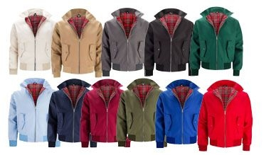 Chaquetas harrington